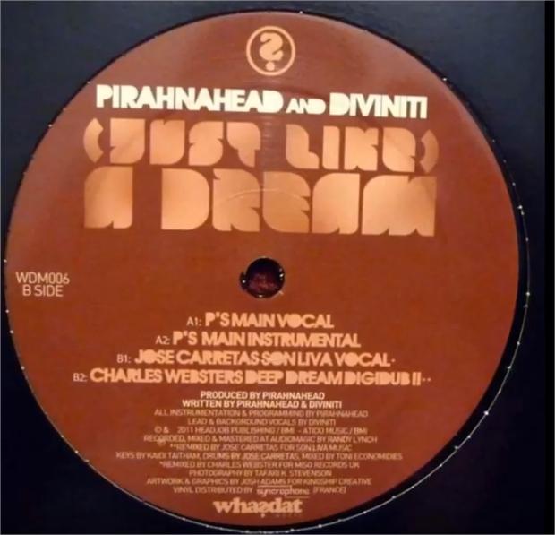 Pirahnahead And Diviniti - Just Like A Dream